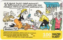 TURKEY B-524 Prepaid TurkCell - Comics - Used - Turquie