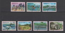 (S0410) GRENADA, 1976 (Tourism). Complete Set. Mi ## 733-739. Used - Grenada (1974-...)