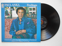 PAUL ANKA (feelings) 33 Tours 30 Cm Vinyle TTB (Lot 199) - Vinyl Records