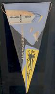 36e Ijzerbedevaart 18 Augustus 1963 - A V V K - Vlaamse Beweging - Vlaams  Pèlerinage De L'Yser Vlag - Organizations