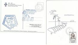 YT 217 Jean Turquet - Dumont D'Urville - Terre Adélie - 01/01/1997 - FDC - Briefe U. Dokumente