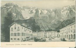 Courmayeur (Vallée D'Aosta); Hôtel Du Mont Blanc - Non Viaggiata. (Juste Vittaz - Aosta) - Aosta