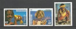 Timbre De Polynésie Française En Neuf ** N 249/251 - Ungebraucht