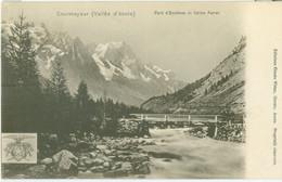 Courmayeur (Vallée D'Aosta); Ponte D'Entrèves Et Valle Ferret - Non Viaggiata. (Juste Vittaz - Aosta) - Aosta