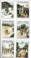 Figurine - Copertine Domenica Del Corriere - Serie Ciclismo - Cromos