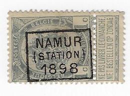 Namur Station 1898 - Roller Precancels 1894-99