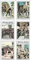 Figurine - Copertine Domenica Del Corriere - Serie Criminalità - Cromos