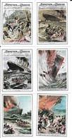 Figurine - Copertine Domenica Del Corriere - Serie Naufragi - Cromos