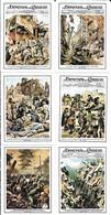 Figurine - Copertine Domenica Del Corriere - Serie Terremoti - Cromos