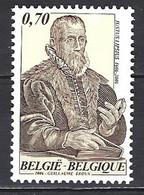 Belgique Cob 3500. Tableau-Portrait De Juste Lipse Humaniste Flamand ** - Künste