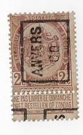 Anvers 1900 - Prematasellados