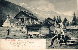 Urnerboden Von Der Klausenstrasse Kanton Uri 1902 - UR Uri