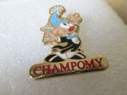 PIN'S   CHAMPOMY  Version Zamak - Pin's & Anstecknadeln