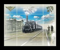 Estonia 2020 Mih. 996 (Bl.52) Estonian Railways MNH ** - Estland