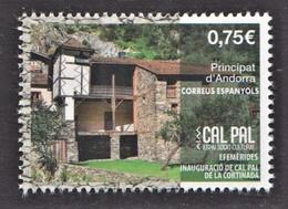 1.- SPANISH ANDORRA 2020 38/5000 Inauguration Of Cal Pal De La Cortinada - Neufs