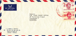 Paraguay Air Mail Cover Sent To Denmark 1970 ?? - Paraguay
