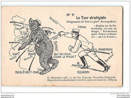 CPA Nicolas II Tzar Strategique - Satira