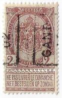 Gand 1902 - Vorfrankiert