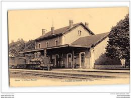 CPA 64 Salies De Bearn La Gare Et Le Train - Salies De Bearn