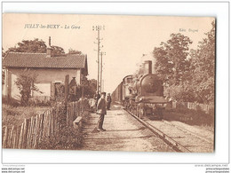 CPA 71 Jully Les Buxy La Gare Et Le Train - Otros Municipios