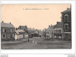 CPA 80 Bray Sur Somme La Place - Bray Sur Somme