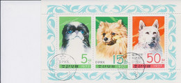 Korea DPK - 1977 - Cani Dogs - Mi. 1662-64 - Used - Korea, North