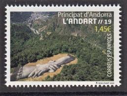 8.- SPANISH ANDORRA 2020  Andorra Land Art - Neufs