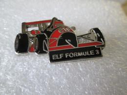 PIN'S   ELF   FORMULE 3   Zamak  Argent - F1