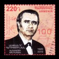 Armenia 2020 Mih. 1157 Music. Composer Alexander Arutiunian MNH ** - Armenia