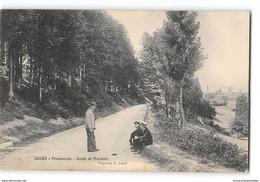 CPA 69 Cours Promenade Route De Mardore - Cours-la-Ville