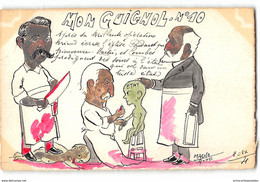 CPA Dessin Original De Magno 20ex Mon Guignol N°10 - Combes Briand Martin Separation église Etat - Satira