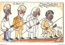CPA Dessin Original De Magno 20ex Mon Guignol N°7 - Les Blackboulés - Satira