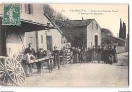 CPA 83 Fayence Route De La Fontaine Neuve Et Fabrique De Bouchons - Fayence