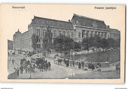 CPA Roumanie Bucuresti Bucarest Le Plais De Justice - Roumanie