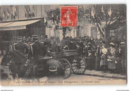 CPA 91 Corbeil Avant Le Banquet Jour D'inauguration - Corbeil Essonnes