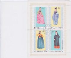 Korea DPK - 1977 -  Costumi - Mi 1600/03  - Used - Korea, North