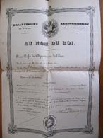 Nomination Du MAIRE DE NOTRE DAME DE L'ISLE Par Le Préfet De L'Eure En 1846 - Historische Dokumente