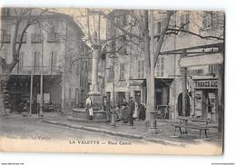 CPA 83 La Valette Place Carnot La Fontaine - La Valette Du Var