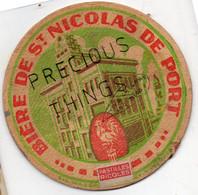 SAINT NICOLAS DE PORT 54  SOUS VERRE DE BIÈRE  CURIEUX ET RARE  CIRCULE  LA POSTE LE 14 JUILLET 1936 LIRE CORRESPONDANCE - Saint Nicolas De Port