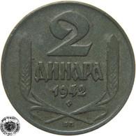 LaZooRo: Serbia 2 Dinara 1942 XF - Serbia