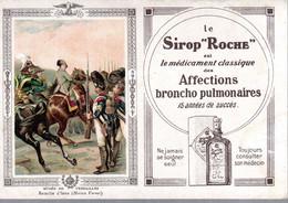 SIROP ROCHE  -  Image Publicitaire - Buvard - Autres