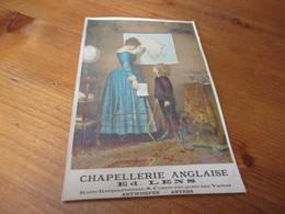 Chromo,Chapellerie Anglaise, Ed Lens, Anvers - Cromos