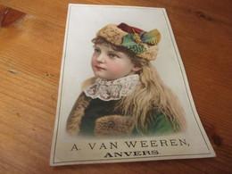 Chromo,A Van Weeren, Anvers - Cromos