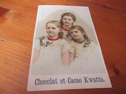 Chromo, Chocolat Et Cacao Kwatta - Cromos