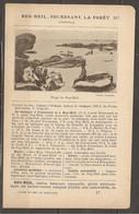 1921 BEG MEIL FOUESNANT LA FORET CHEMIN DE FER RESEAU D'ORLEANS STATION DE QUIMPER 685 KM DE PARIS PUIS ROUTE - Ferrovie