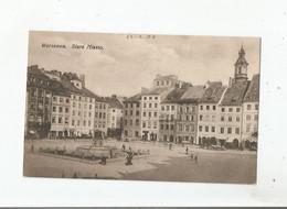 WARSZAWA 58 STARE MIASTO 1928 - Pologne
