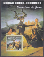 2001Mozambique2162/B105Artist / Francisco De Gogh8,00 € - Künste