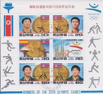 Korea DPK - 1992 -  Winner Of Olympic Games  - Mi   - Used - Korea, North