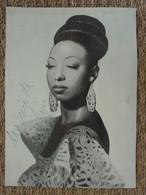 Josephine Baker ! Autographe Manuscrit! Dédicace De Sa Main! - Autographs