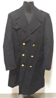 Cappotto Impermeabile Vintage P.S. Del 1987 Tg. 54 Senza Fregi Etichettato - Uniform